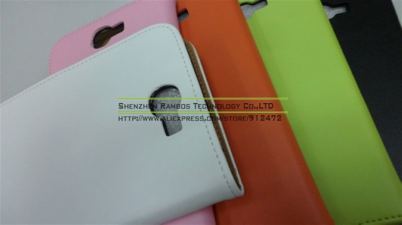 Real Leather Pouch Mobile Phone Case Cover for Samsung Galaxy Note 2 N7100
