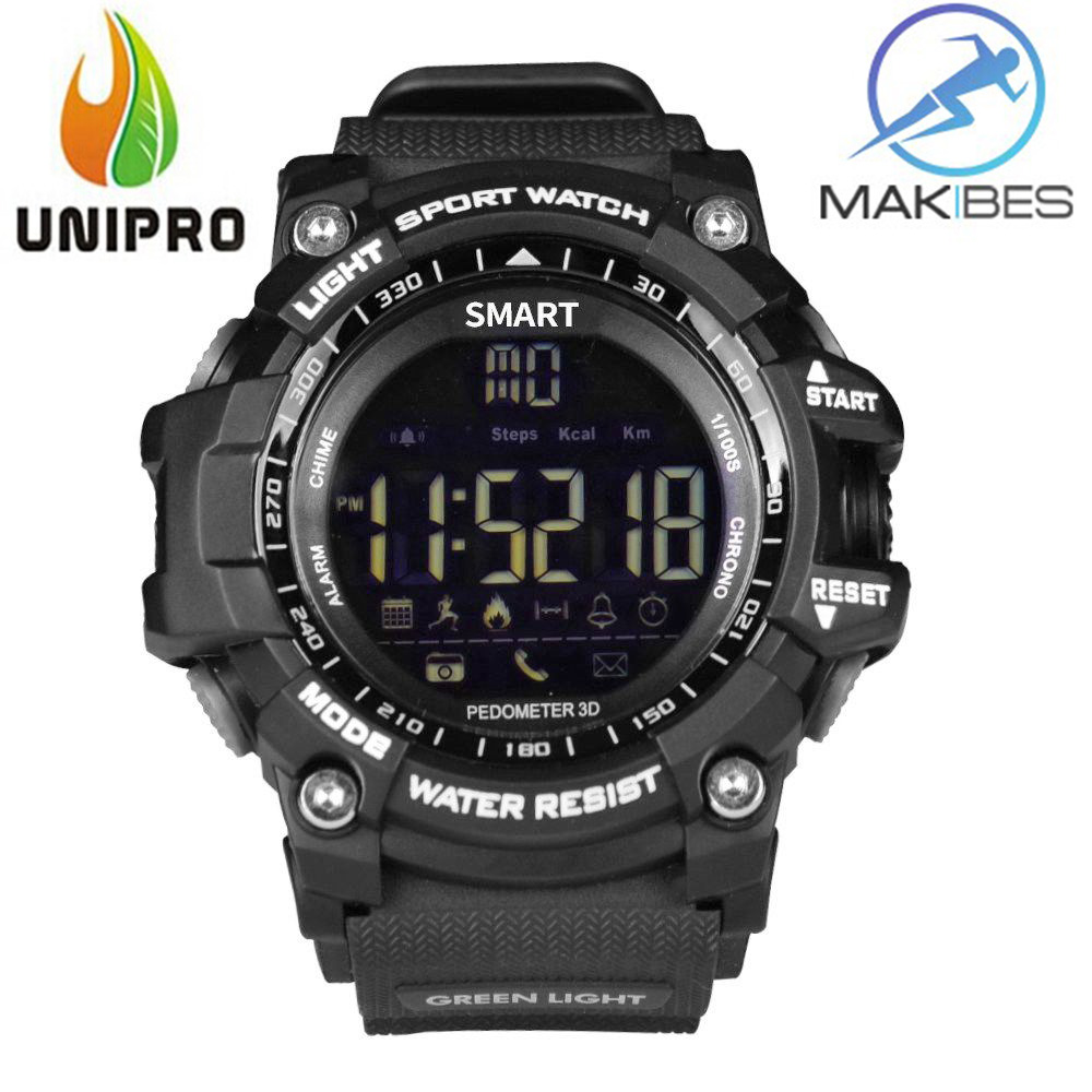 Makibes EX16 5ATM Waterproof Smart Watch Bluetooth4.0 Call SMS Reminder Compatibie with iOS/Android