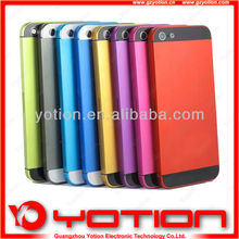 China wholesale replacement parts for iphone 5 back cover housing