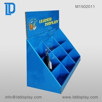 pop up table top custom cardboard counter display stands & pos cardboard counter display unit