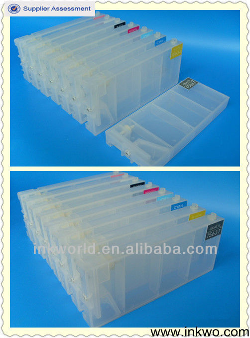 Good Products refill ink cartridges made for Epson 7400 9400,ink cartridge for epson 7800 9800,220 ML