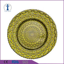 Factory direct supply customized works cheap glass dinner plates