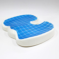 Mesh cover cervical design gel pad summer office chair cooling seat cushion