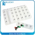 PP Durable Material China monthly wholesale pill box