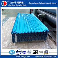 building materials blue color roofing sheet corrugated metal roofing sheet
