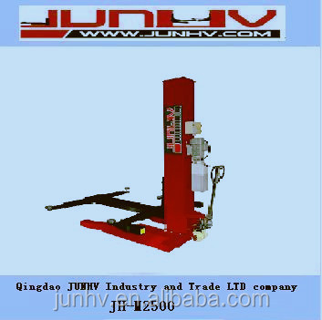 JUNHV mini JH-M2500 single post car lift with CE quick manufacture
