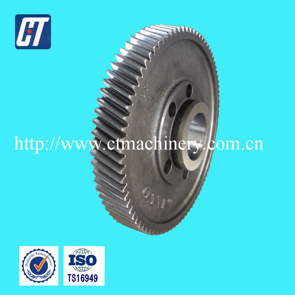 High Quality Steel Transmission Gear With 20 Degree Angle