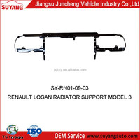 RENAULT LOGAN CAR RADIATOR SUPPORT MODEL 3 AUTO METAL SIDE PANEL FOR REPLACEMENT
