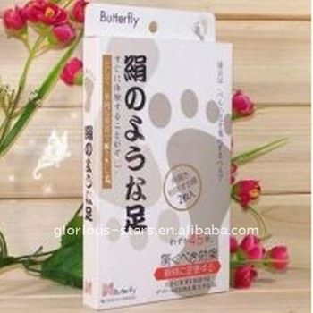 Japanese exfoliating dead skin Japanese athlete foot calluses removal foot mask 2015