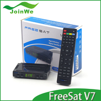 Free To Air Set Top Box Freesat V7 HD DVB-S2 Mini Satellite Tv Receive Support BISS
