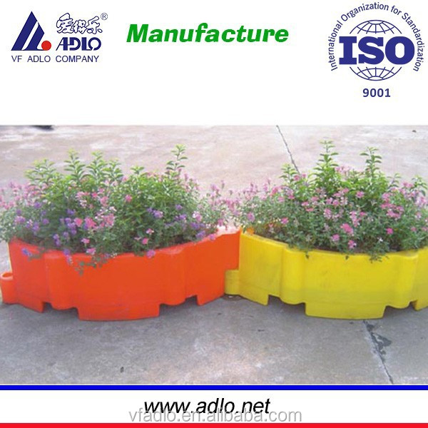 High Quality Chinese Factory Flower Pots And Planter plastic flower water pot garden/pe soft plastic garden pot
