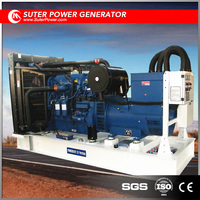 Deepsea start open type diesel generator 300kw by UK made engine