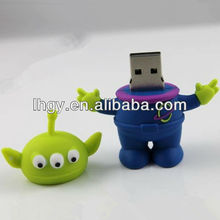 Star War Three eyes Real capacity high speed aliens usb drive(LH-1262)