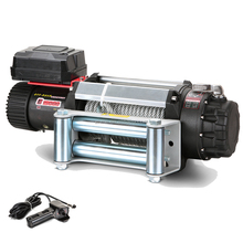 12 volt 15000lbs mechanical winch with wire rope