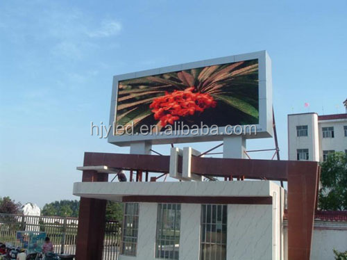 P10 outdoor hd led screen billboard led display sign
