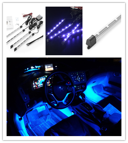 LED Car Auto Interior Accessories Atmosphere Lights Decoration Lamp
