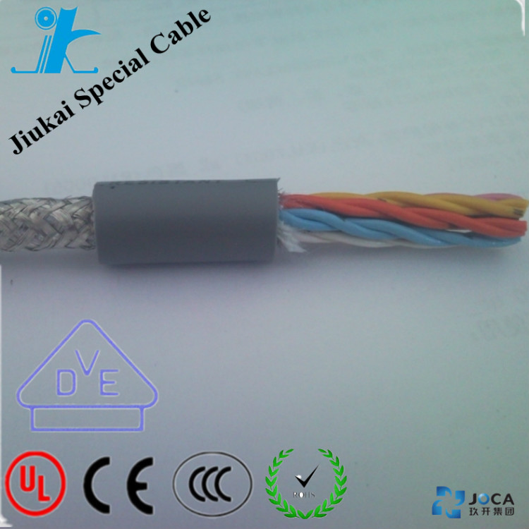 Flex multi core cable LiYCY TP 0.14mm2 with IEC60228 standard