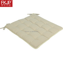 FKJP Outdoor seat cushion with 16 stitching and tie