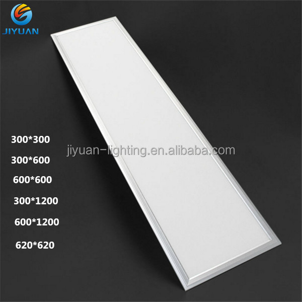 Super bright Epistar 2835 SMD 3500-3800lm commerical ultra flat square led panel 600x600 36w