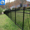 Fentech White Decorative Picket Fence PVC Fence vinyl Split Rail Fence