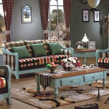 Rustic Style Look Sofa 3+2+1 High Class Mediterranean Living Room Design Ideas