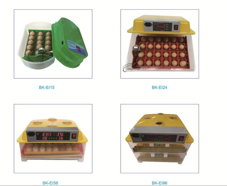 2018 China best selling full automatic egg incubator/ Chicken breeding machine with LED display and best price