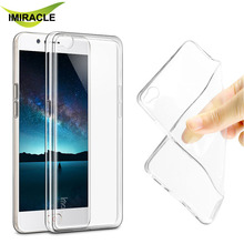 Imak Ultra Thin 0.8MM Clear Soft TPU Silicone Case For ZTE Nubia M2 Lite Phone Cover