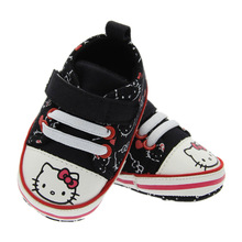 New arrivel hello kitty shoes for baby boys