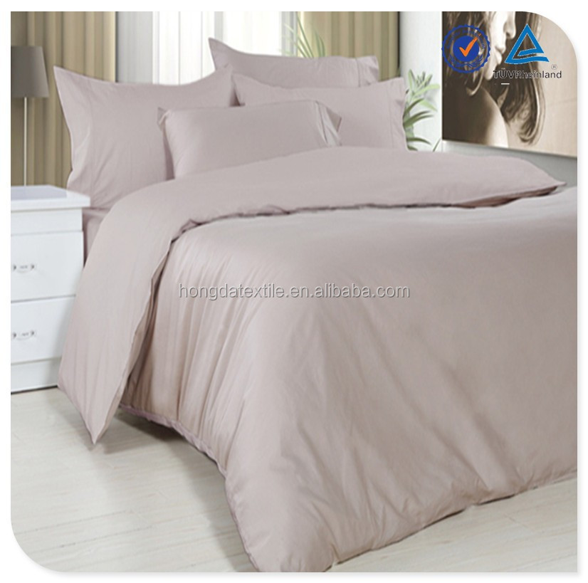 Pure Colorl Adult 100% Bamboo Bedding Set