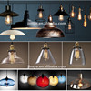 Industrial Hanging Lighting Glass Pendant Lamp