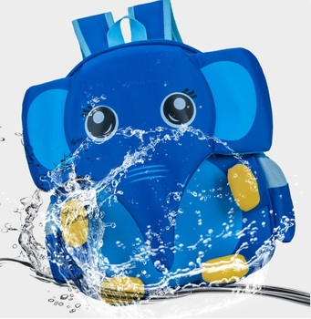 SUPERCUTE Waterproof 3D Animal Children School Backpack bag
