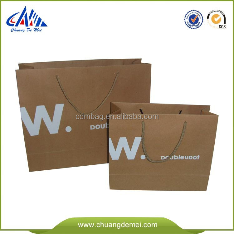 Different Types Of Paper Bags