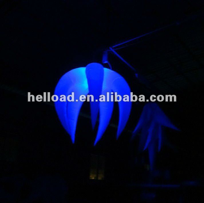 halloween Supply inflatable illuminated LED tulip