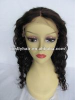 wholesale cheap human hair full lace wig halloween costumes long hair