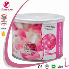 Hot Film Hard Depilatory Wax For Hair Removal/Epilator Wax Pink Depilatory Wax