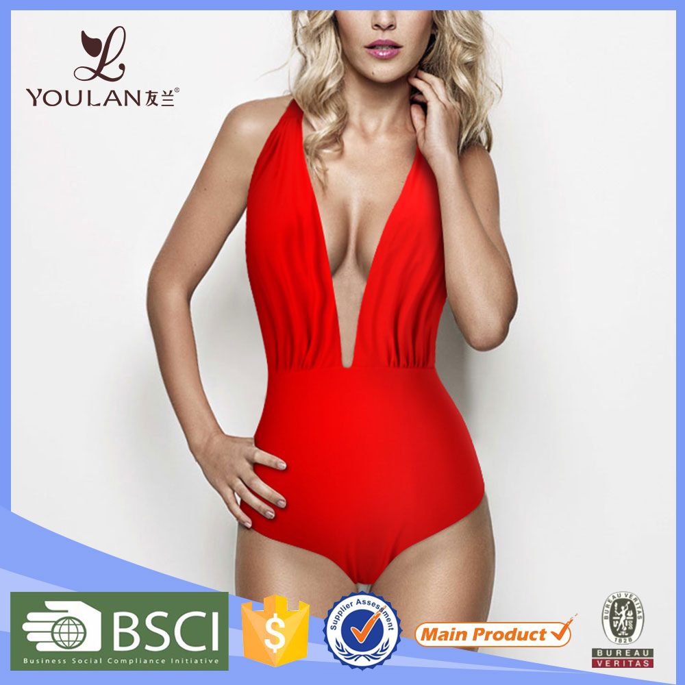 Wholesale High Quality Cheap One Piece hot sexy bar girl bikini swimwear