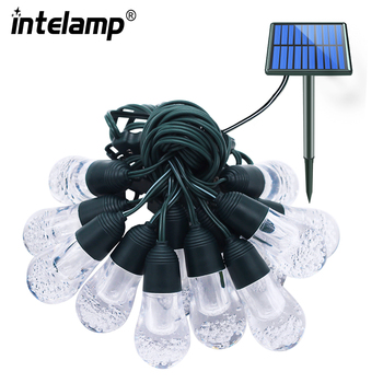 solar lamp outdoor  Outdoor String Lights - Heavy Duty, Hanging  Patio Lighting/Cafe/Bistro Commercial Grade Strand