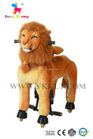 walking horse animal ride on toy