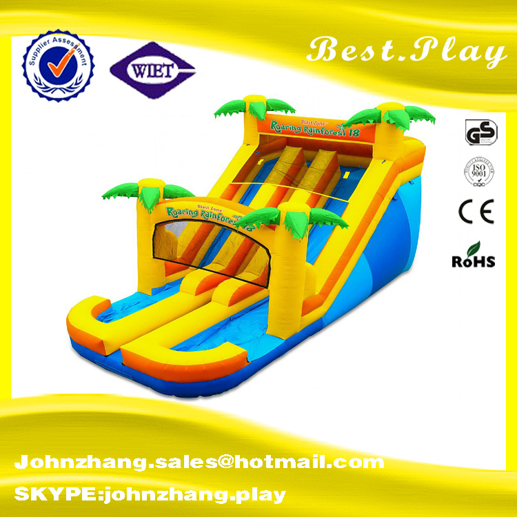 2016 Latest giant/large customized animal inflatable/dilative playground series : Jungle Park Bounce