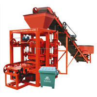 Building Hot Sale Product Of 2017 QT 4-26 Concrete Block Making Machine Equipment For Small Business At Home