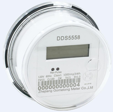 DDS5558 Single Phase Electronic Active Socket Energy Meter SOCKET/ROUND ENERGY ELECTRONIC METER 1S ,2S