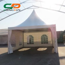 5x5m small pagoda canopy luxury out door winter garden tents for sale