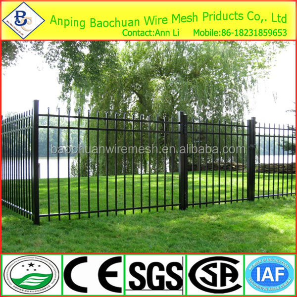 gothic steel fence pickets