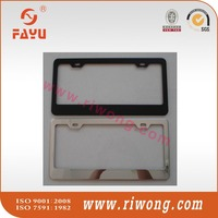 metal motorcycle license plate frame, plastic motorcycle license plate frame