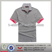 golf polo t shirts gray casual wear