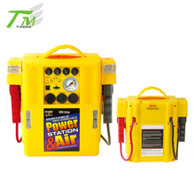 4 in 1 car jump starter with warning lamp jump start with air compressor