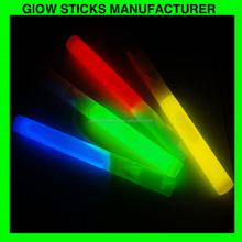 Glow stick with whistle, glow in the dark whistle