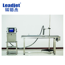 Leadjet small character inkjet printer bottle label printing machine