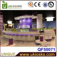 World Leading!! Mobile Exhibition Electric or Gas Fast Food Delivery Kiosk Design