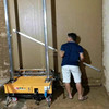 The automatic wall plastering machine made in China